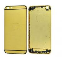 China 24K Gold Plating Battery Cover with SIM Card Tray&Side Buttons for iPhone6 Plus (5.5) ALIP6#002 on sale
