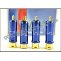 China Set WBT-0110Cu Nextgen RCA Connector 24K Gold Plated wholesale