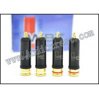 China Set WBT-0102Cu Nextgen RCA Connector With 24K Gold plated wholesale