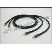 Audiocrast OFC-2 RCA Cable With 24K Gold Plated Nakamichi RCA Plug