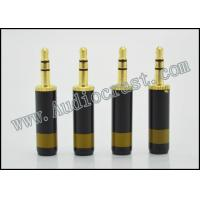 China Pailiccs 24K Gold Plated 2.5mm 3Poles Stereo Audio Plug for DIY wholesale