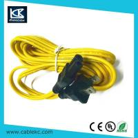 Buy cheap SAA power cord UL NEMA 1-15P 2plug to IEC C7(figure 8) AC power cord from wholesalers