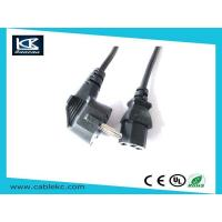 Buy cheap SAA power cord Euro power cord to IEC C13 connector from wholesalers