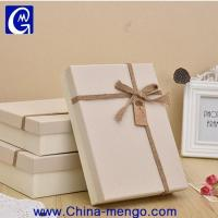 China Custom Paperboard Christmas White Gift Boxes With Lid/carbodard Gift Box With Lid wholesale