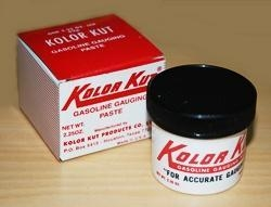 """Quality """"KOLOR KUT"""" Gasoline and Oil Finding Paste for sale"""