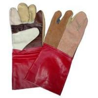Buy cheap Leather Gauntlet Gloves from wholesalers