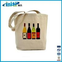 China 2014 new products wholesale canvas wine bag wholesale