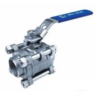 China 3PC Ball Valves,Full Bore,Butt Weld End,1000WOG wholesale