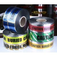 China Detectable Aluminum Warning Tape for Protecting Underground Pipe on sale