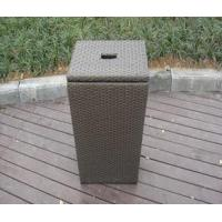 China wicker laundry hamper with lid Esr-11108 wholesale