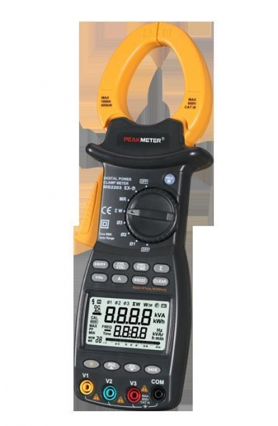 Quality MS2203 Digital Power Clamp Meter Tester for sale