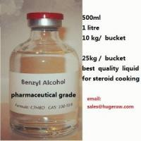 China steroid solvents Benzyl alcohol 500ml price 50usd wholesale