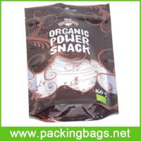 China Daily use packaging bags Laminated Material Snack Resealable Poly Bag on sale