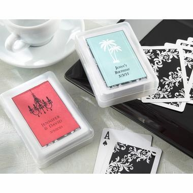Quality Birthday Playing Cards - Themed Birthday Party for sale
