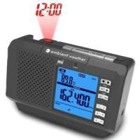 China Ambient Weather WR-336 AM/FM/WB Weather Alert Radio Projection Alarm Clock with Indoor Temperature on sale