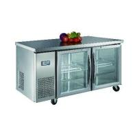 China Luxury project static cooling 03 table top refrigerator(glass door) wholesale