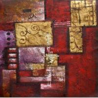 China original paintings modern abstract 16 paintings:28343 wholesale