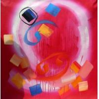 China original paintings modern abstract 13 paintings:28340 wholesale