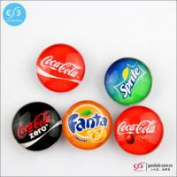 China Products Glass magnets for fridge /magnetic decoration sticker wholesale