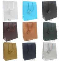 China 1 Matt Euro Tote Gift Bags With Solid Colors on sale