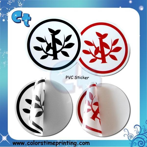 Quality High quality PVC sticker for sale