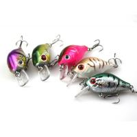 China Floating Mini Crankbait Fishing Lures for Bass and Trout Walleye Hard Baits 7.4cm/2.91/8.4g on sale