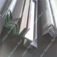 China Stainless Steel Angle Iron Bar on sale