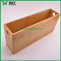 China MY2-6031 Bamboo Storage Organizer with Handle wholesale