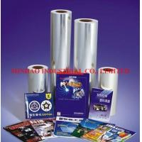 Buy cheap BOPP film PRODUCTS Bopp Lamination Film from wholesalers