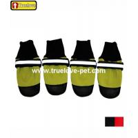 China Product: All-Weather Outdoor Waterproof Rubber Sole Dog Shoes wholesale