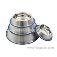 China Stainless Steel Pet Food Bowl for Dogs Cats wholesale