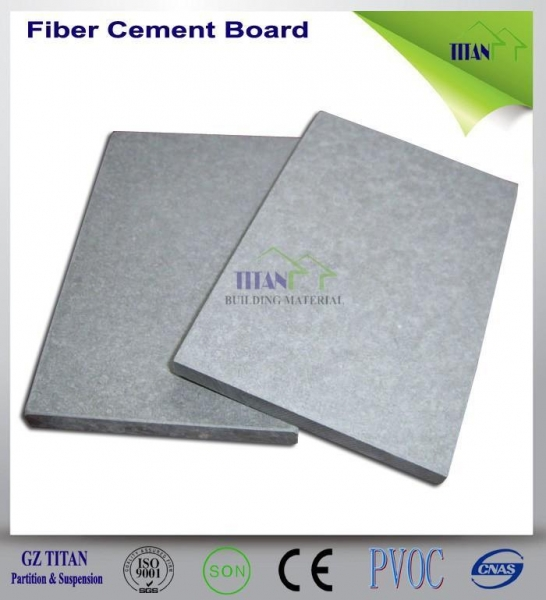 Quality Reinforced Fire Resistant 6mm Grey Cement Fiber Board for sale