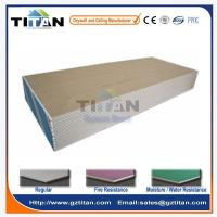 China 12mm Paper Faced Wall Partition Drywall Gypsum Board Price in India wholesale