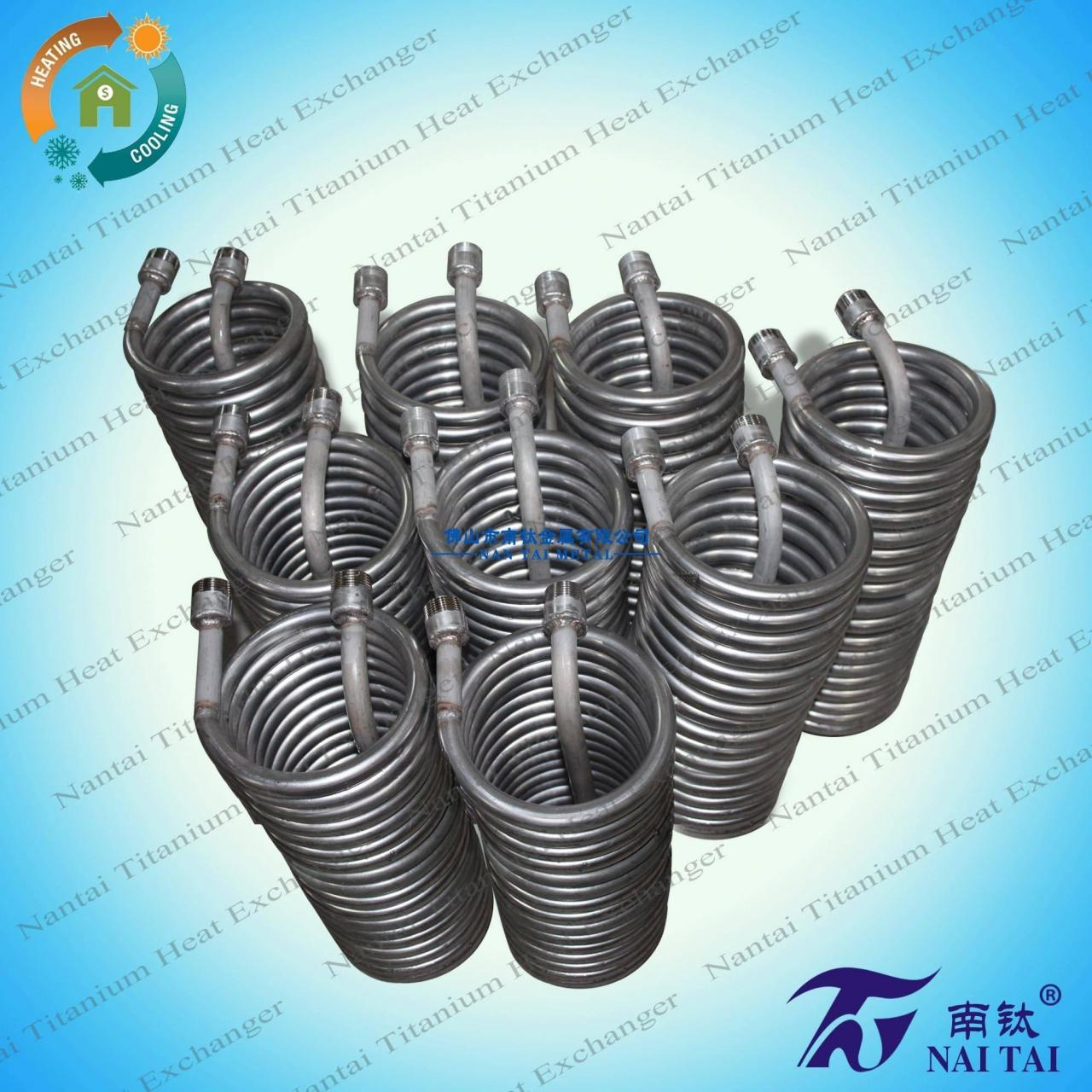 China China wholesale stainless steel heat exchanger coil on sale