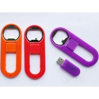 China plastic beer opener usb flash drive factory pice wholesale