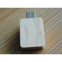 China square wooden slide usb flash drive gifts wholesale