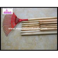 China leaf rake wooden handle wholesale