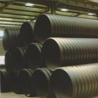 Quality Steel Reinforced PE Spiral Double Wall Corrugated Pipes for sale
