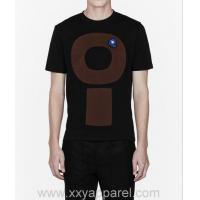 Black Circle Patch Work T-shirts for Men High Quality