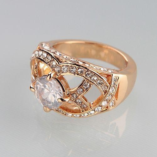 Quality 18K/24K Gold Plated Ring Ariana Item: R0024 for sale