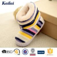 China Baby Shoes Cashmere Bowknot Child Shoes wholesale