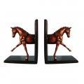 Quality Glossy Horse Bookends for sale