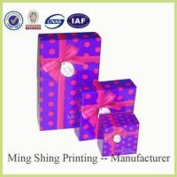 China Factory hot-selling high quality with ribbon popular style packaging box /paper packaging box wholesale