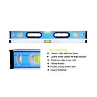 China Spirit LeveL Rubber handle High Accuracy Top Professional Line level YL-2006G on sale