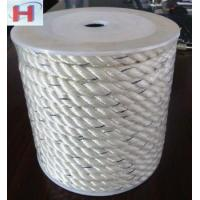 China 3 strand twisted polyester rope ideal for anchor line on sale