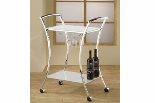 Quality Trolley Cart Series Product name:Server Cart, White for sale