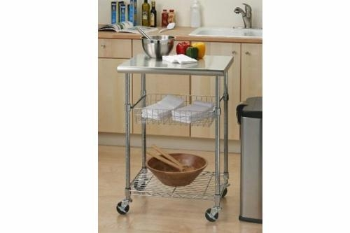 Quality Trolley Cart Series Product name:Stainless Steel Kitchen Workstation for sale