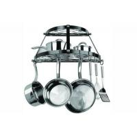 Buy cheap Kitchen item series Product name:2 Shelf Wall Mount Black Pot Rack from wholesalers