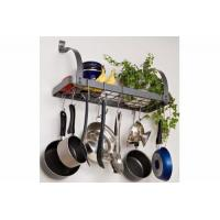 Buy cheap Kitchen item series Product name:Bookshelf Pot Rack from wholesalers