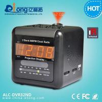 China Dual Band Alarm Clock Hidden Camera with D1 10S Pre-record Motion Activated DVR wholesale